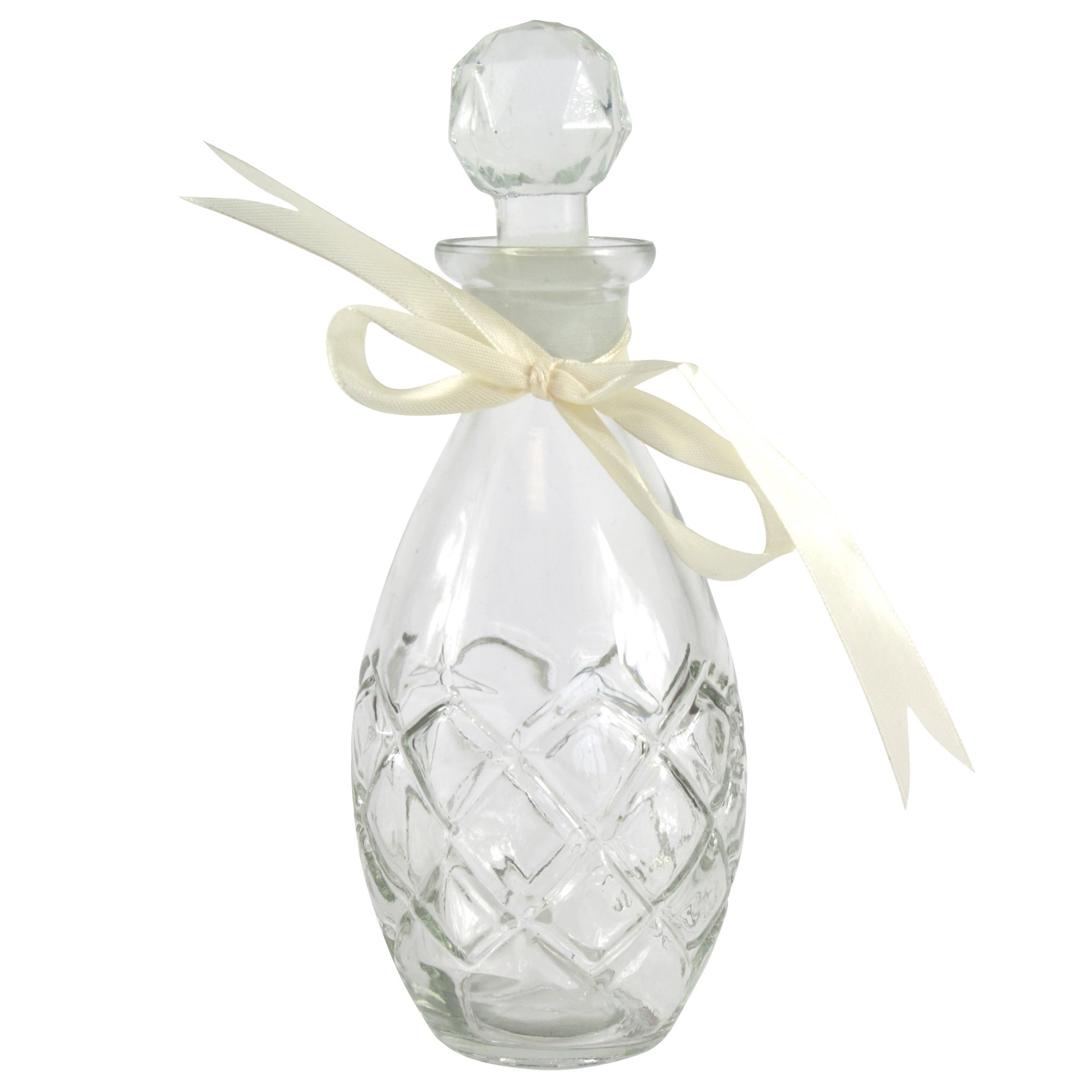 Vintage Collection Teardrop Glass Perfume Bottle