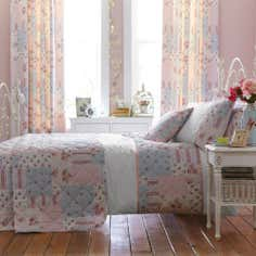 Pink Amelia Collection Duvet Cover Set