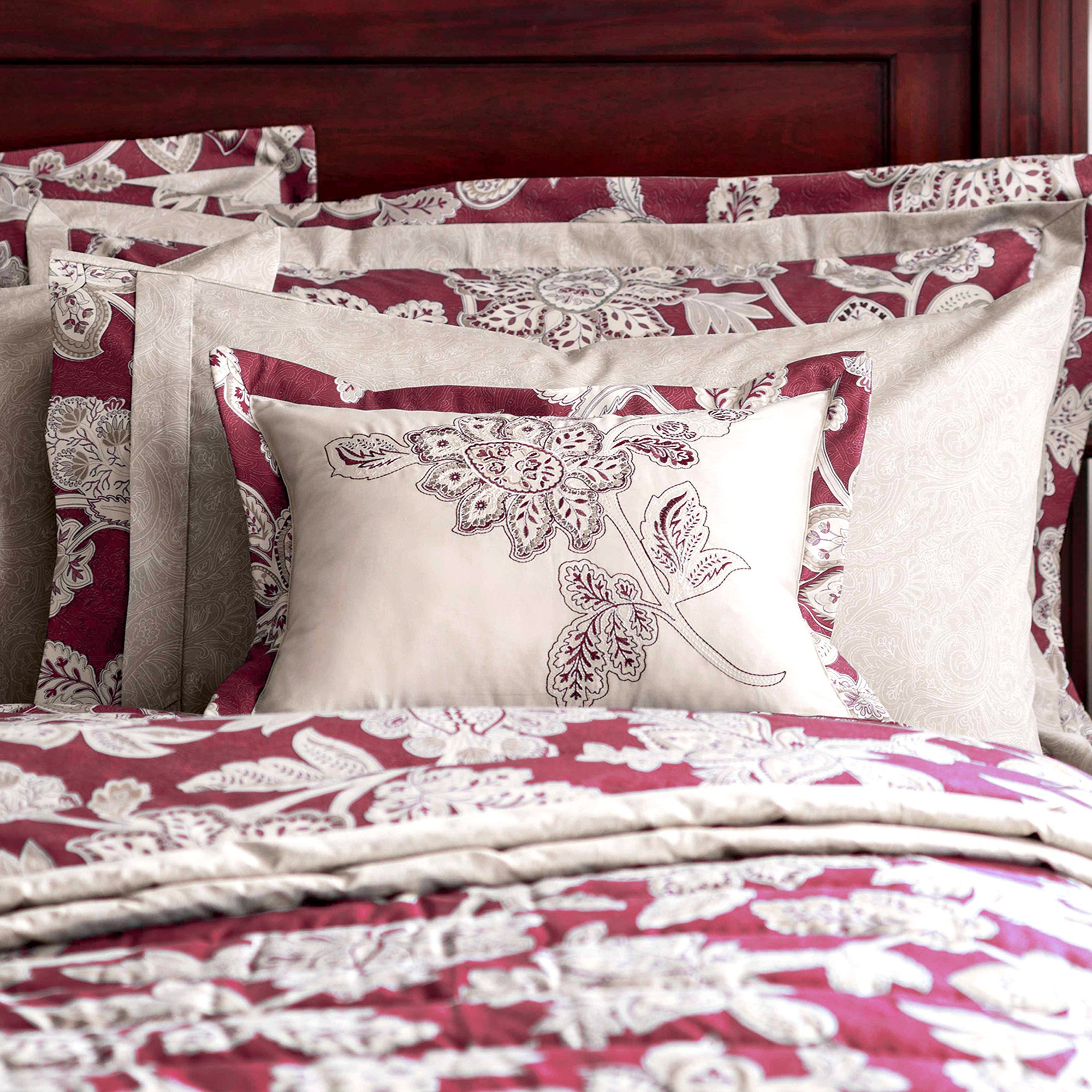 Dorma Red Samira Collection Cushion