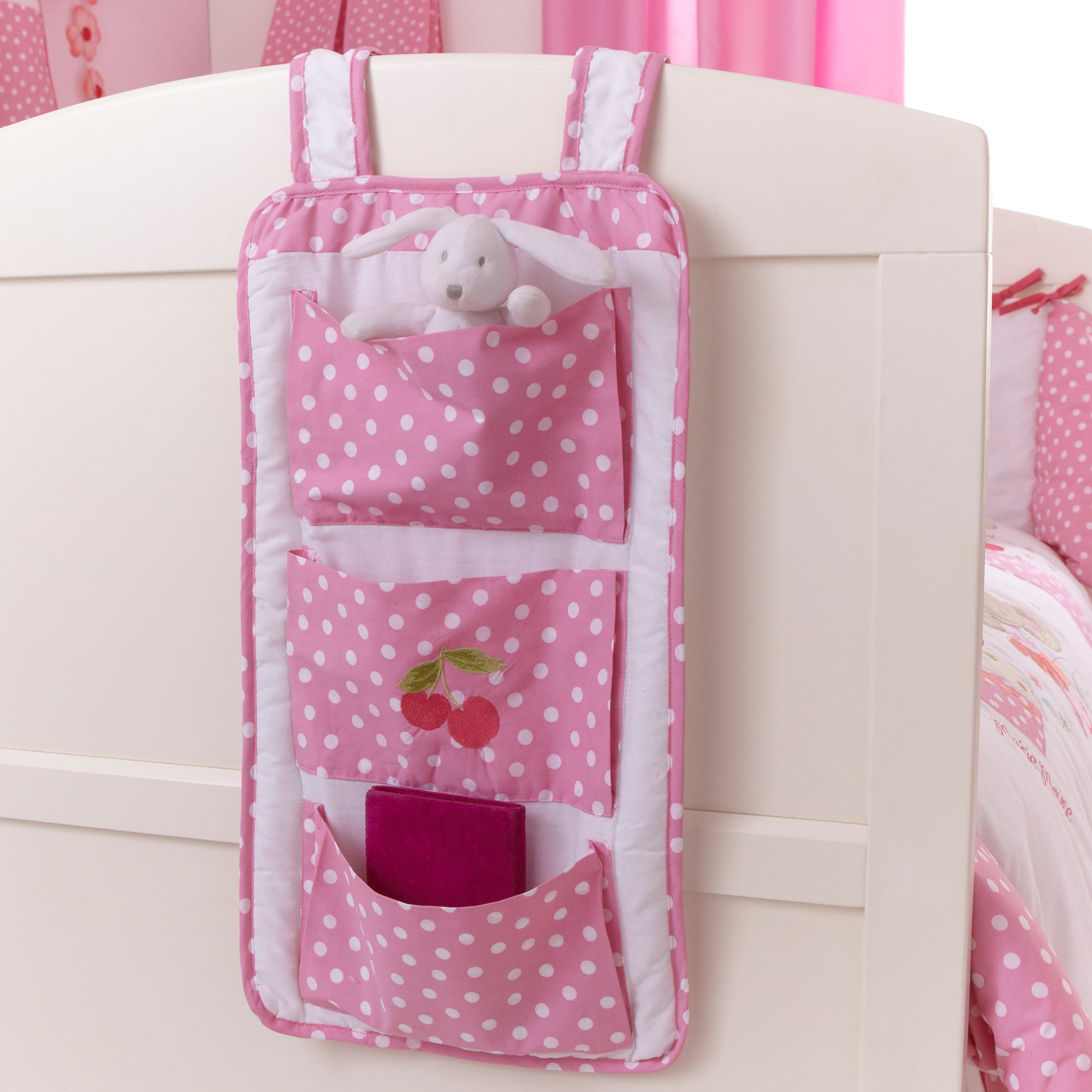Kids Maisie Mouse Collection Cot Organiser