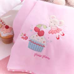 Kids Maisie Mouse Collection Fleece Throw