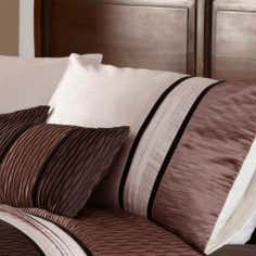 Mocha Manhattan Collection Housewife Pillowcase