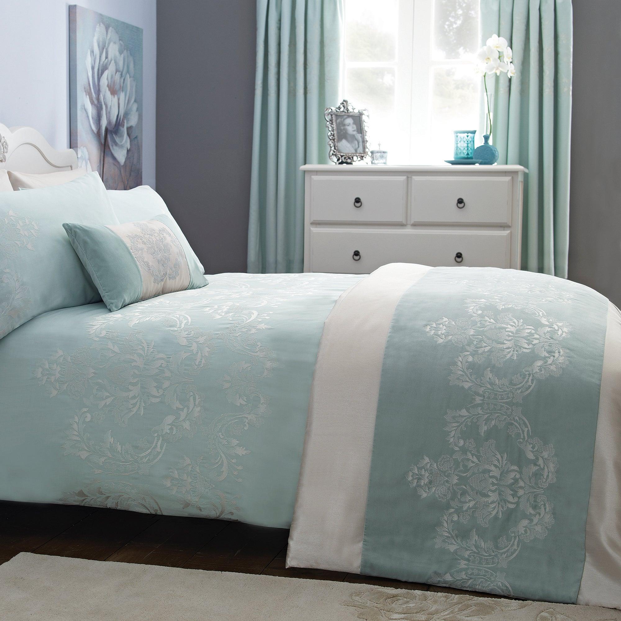 Duck Egg Nina Collection Bedspread
