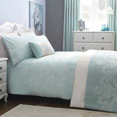 Duck Egg Nina Collection Duvet Cover