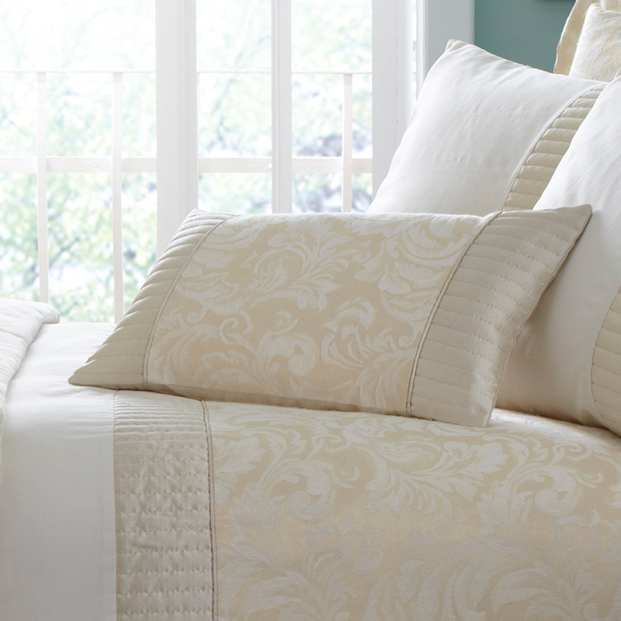 Cream Rebecca Collection Cushion