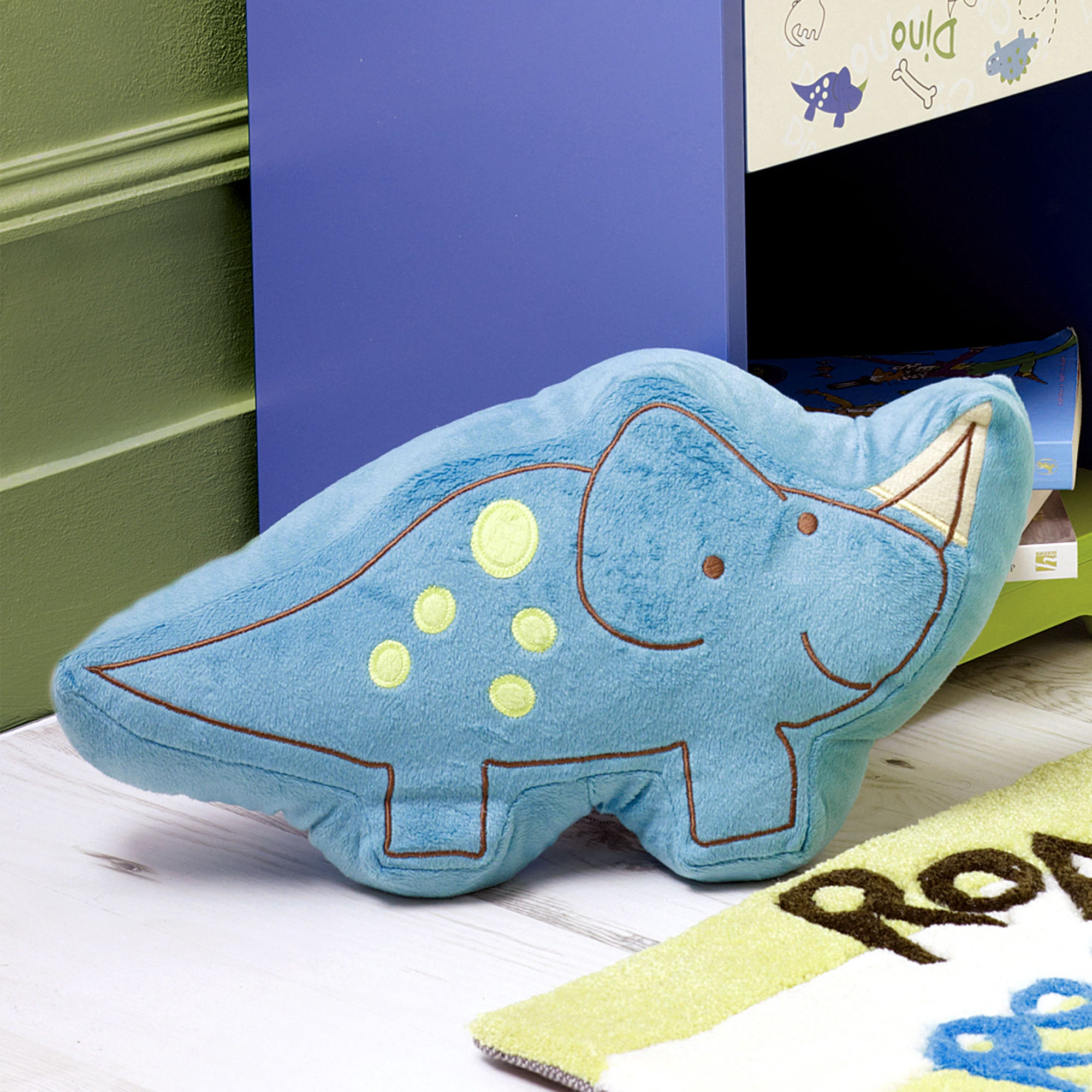 Kids Roaring Dino Collection 3D Cushion