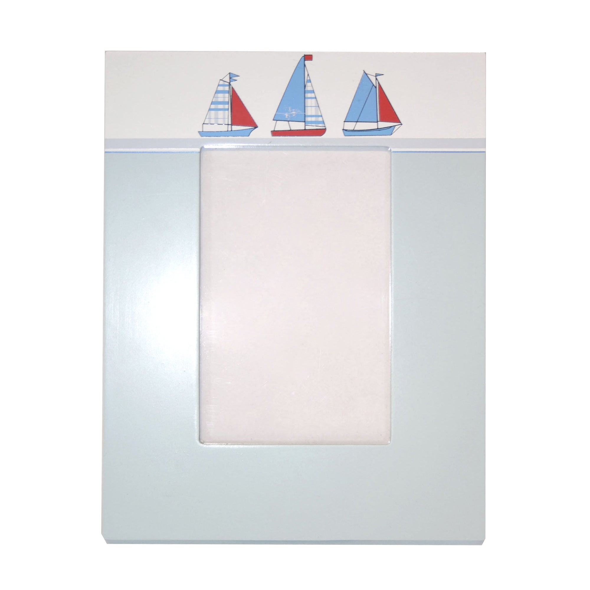 Kids Blue Sail Away Collection Photo Frame