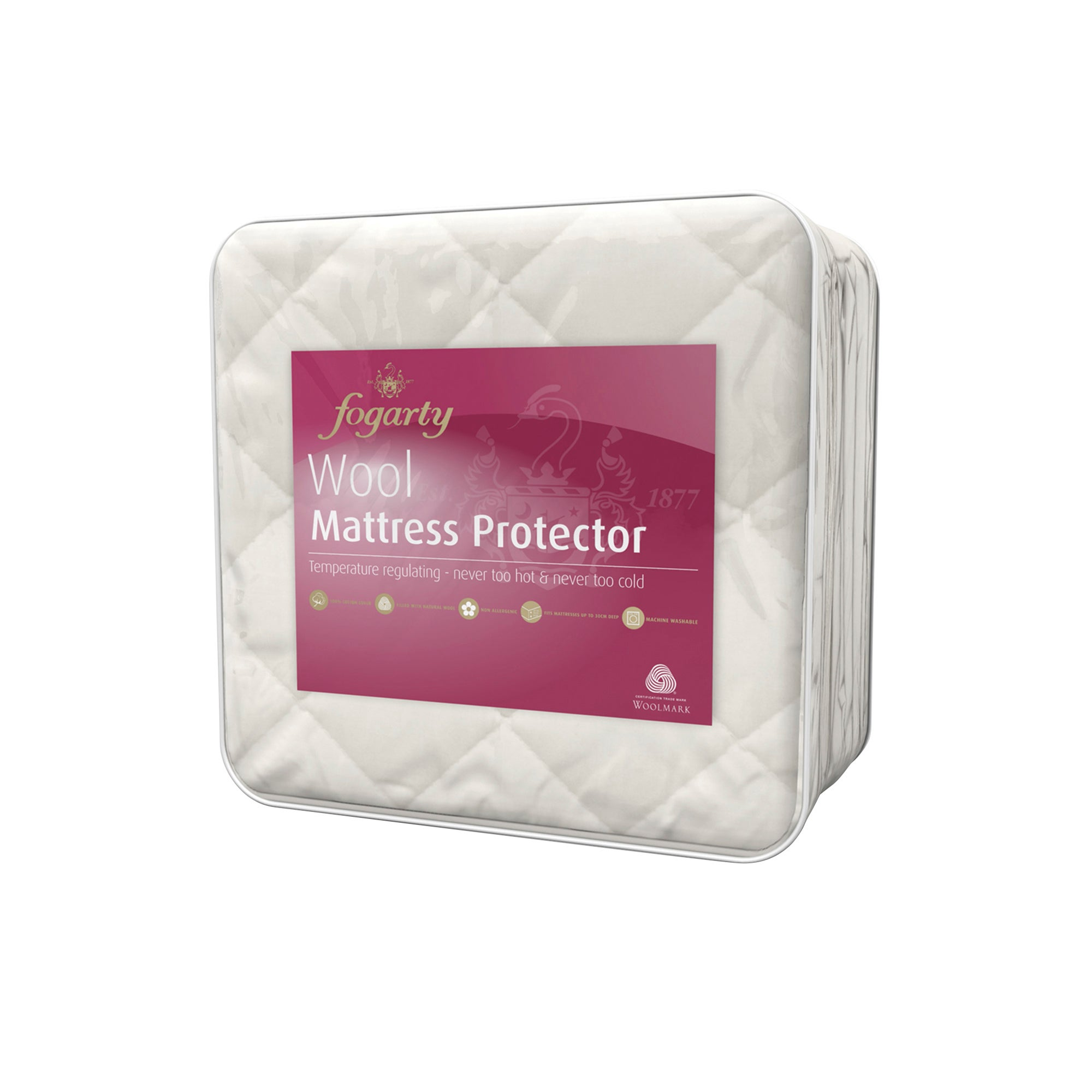 Fogarty Wool Mattress Protector