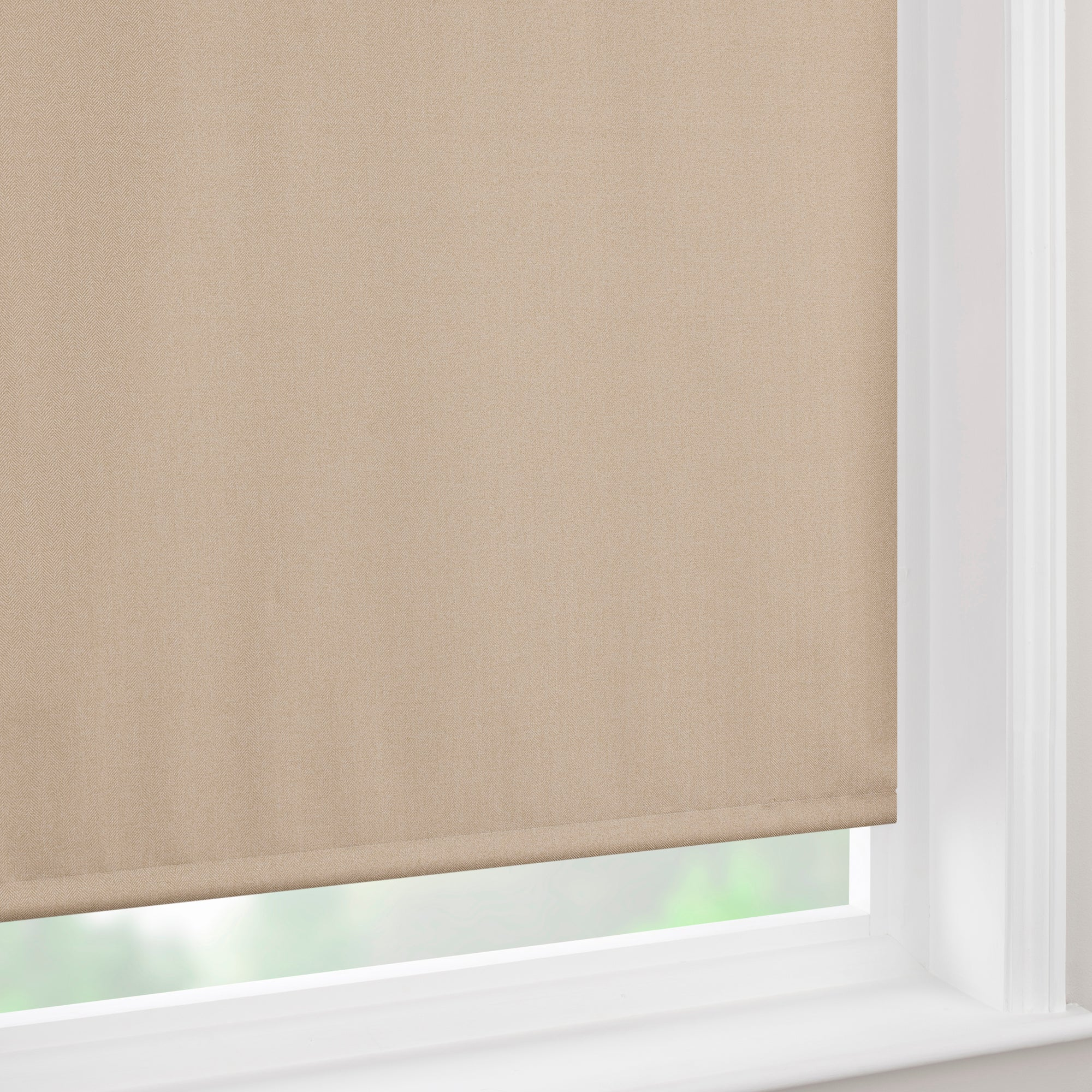 Herringbone Blackout Roller Blind