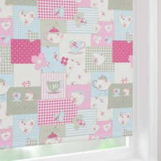 Pink Tea Time Blackout Roller Blind
