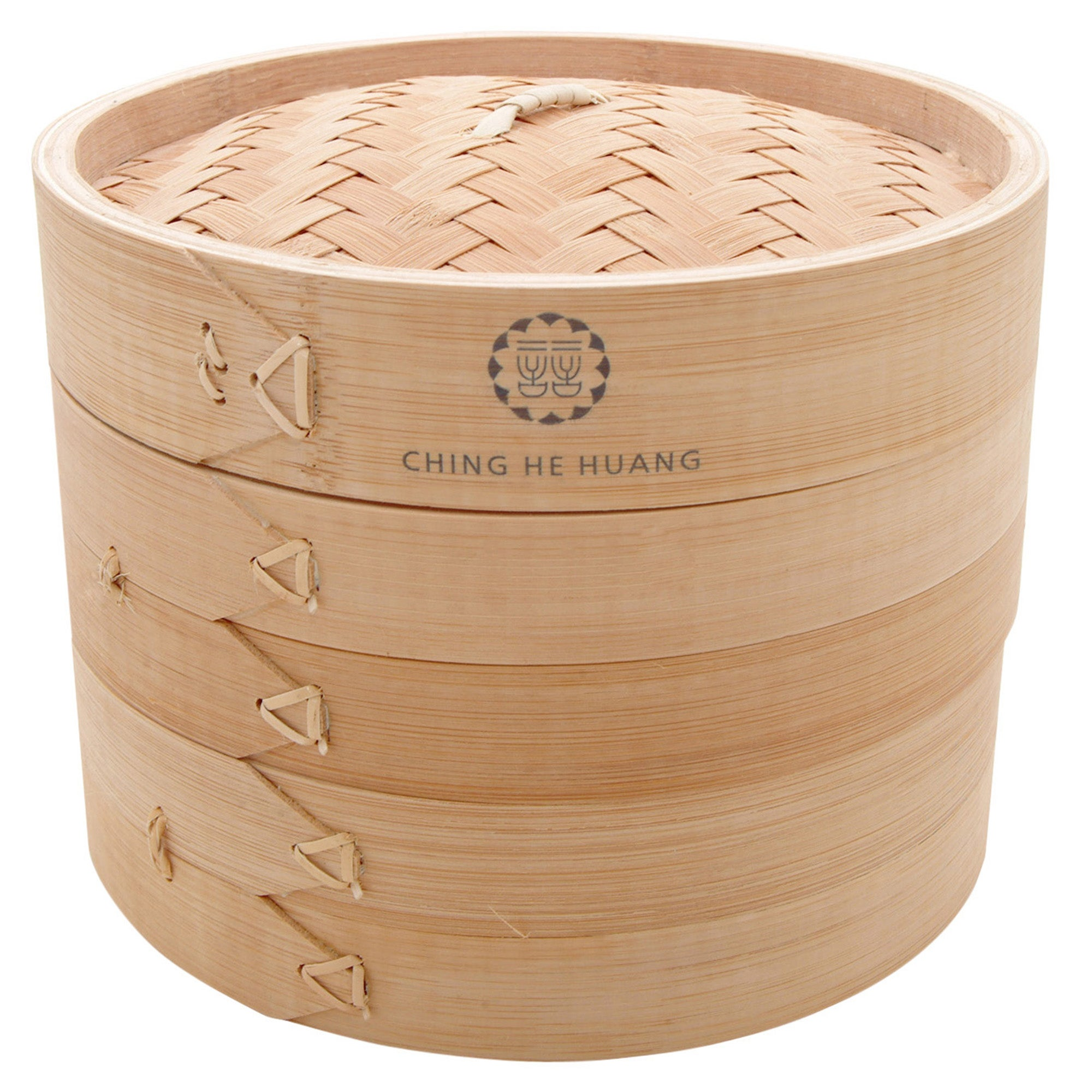 Ching He Huang Collection Double Tier Bamboo Steamer
