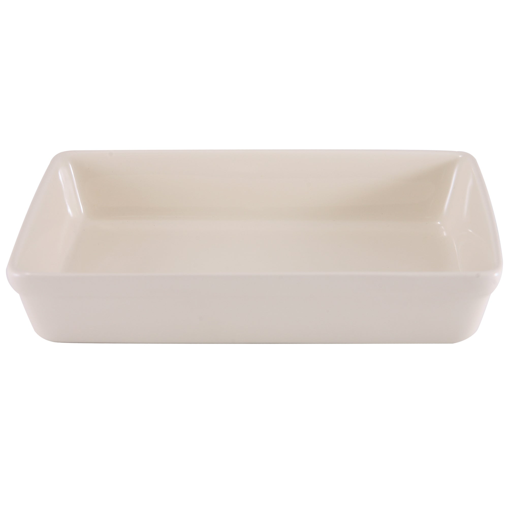 Cream Farmhouse Collection Rectangular Roaster