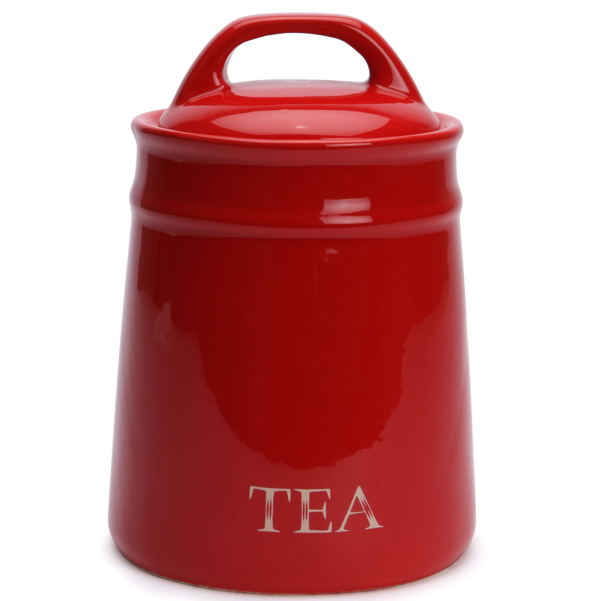 Red Country Collection Tea Canister