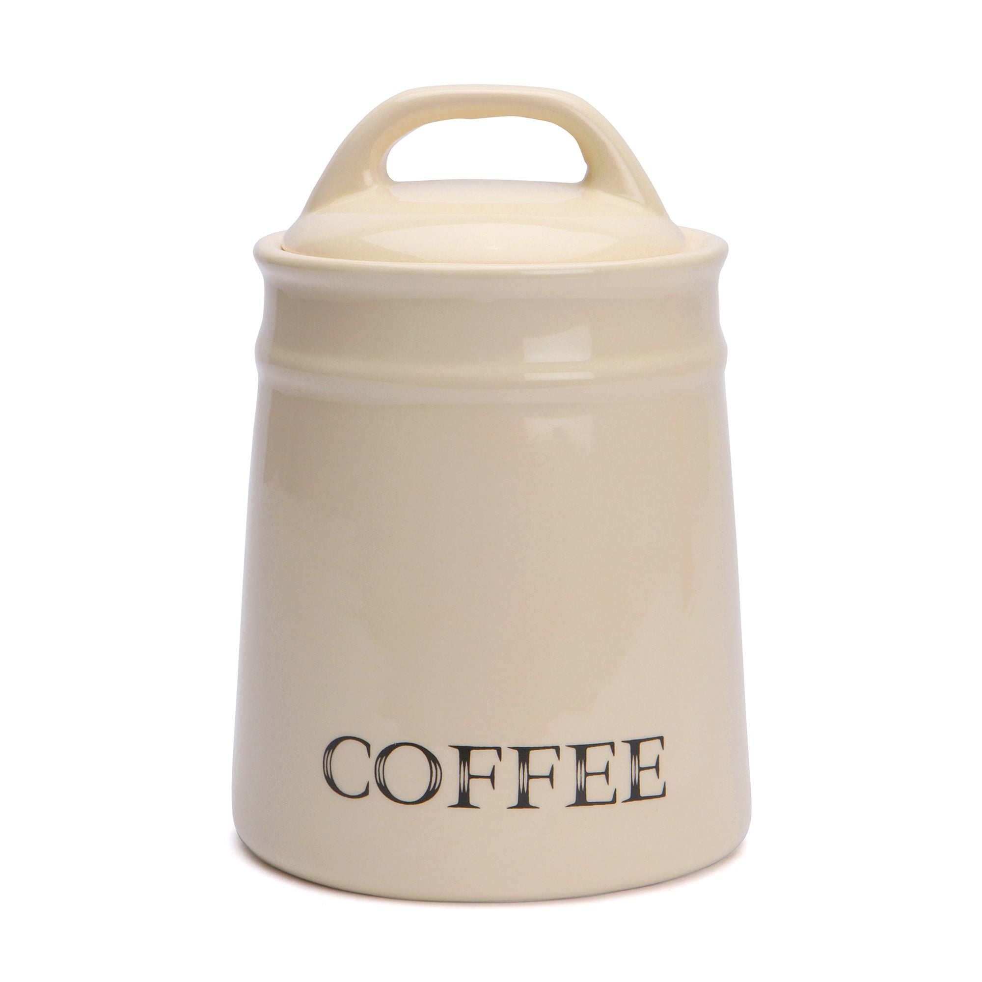 Cream Country Collection Coffee Canister
