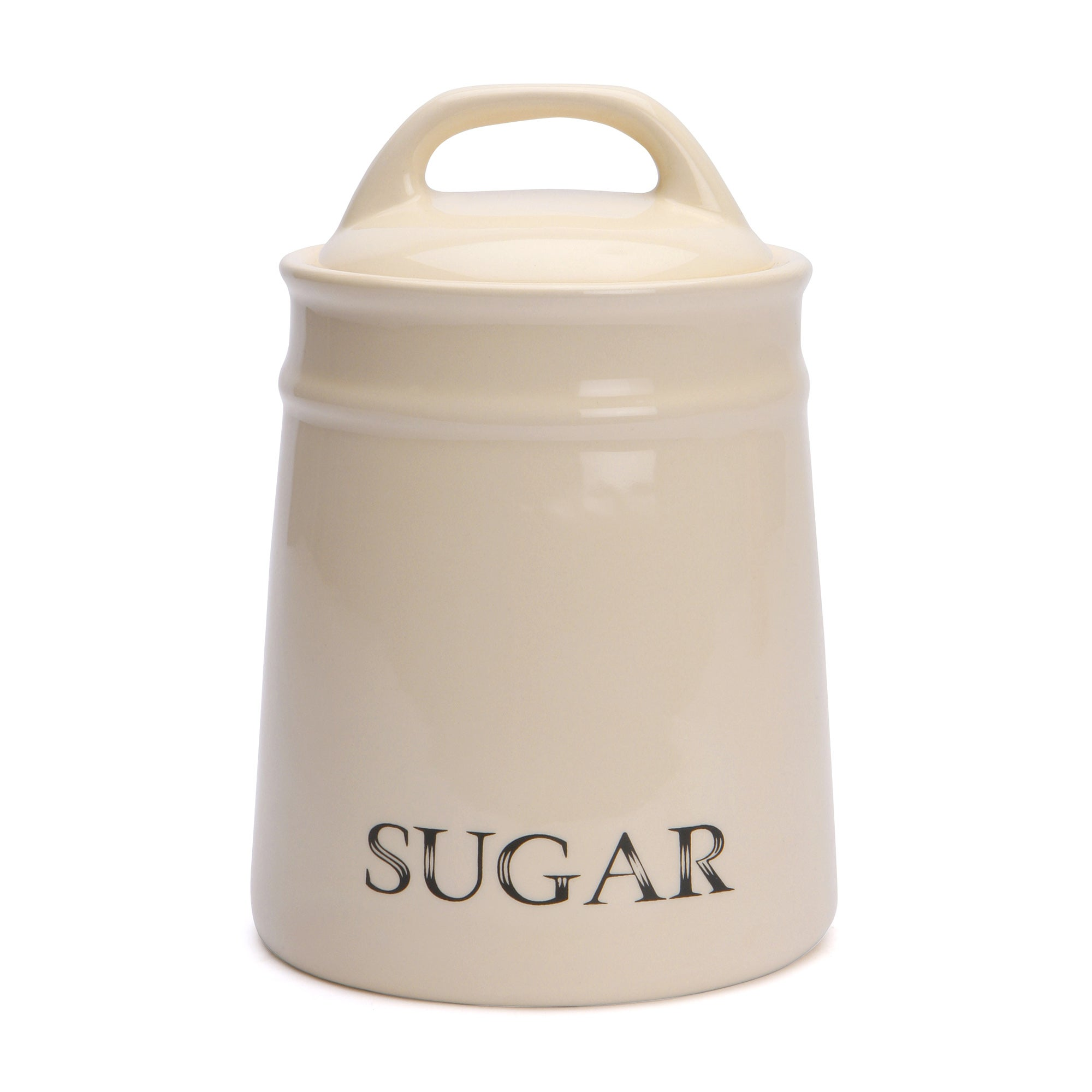 Cream Country Collection Sugar Canister