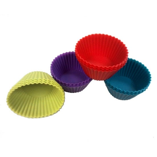 Silicone Collection Pack of 12 Cupcake Cases