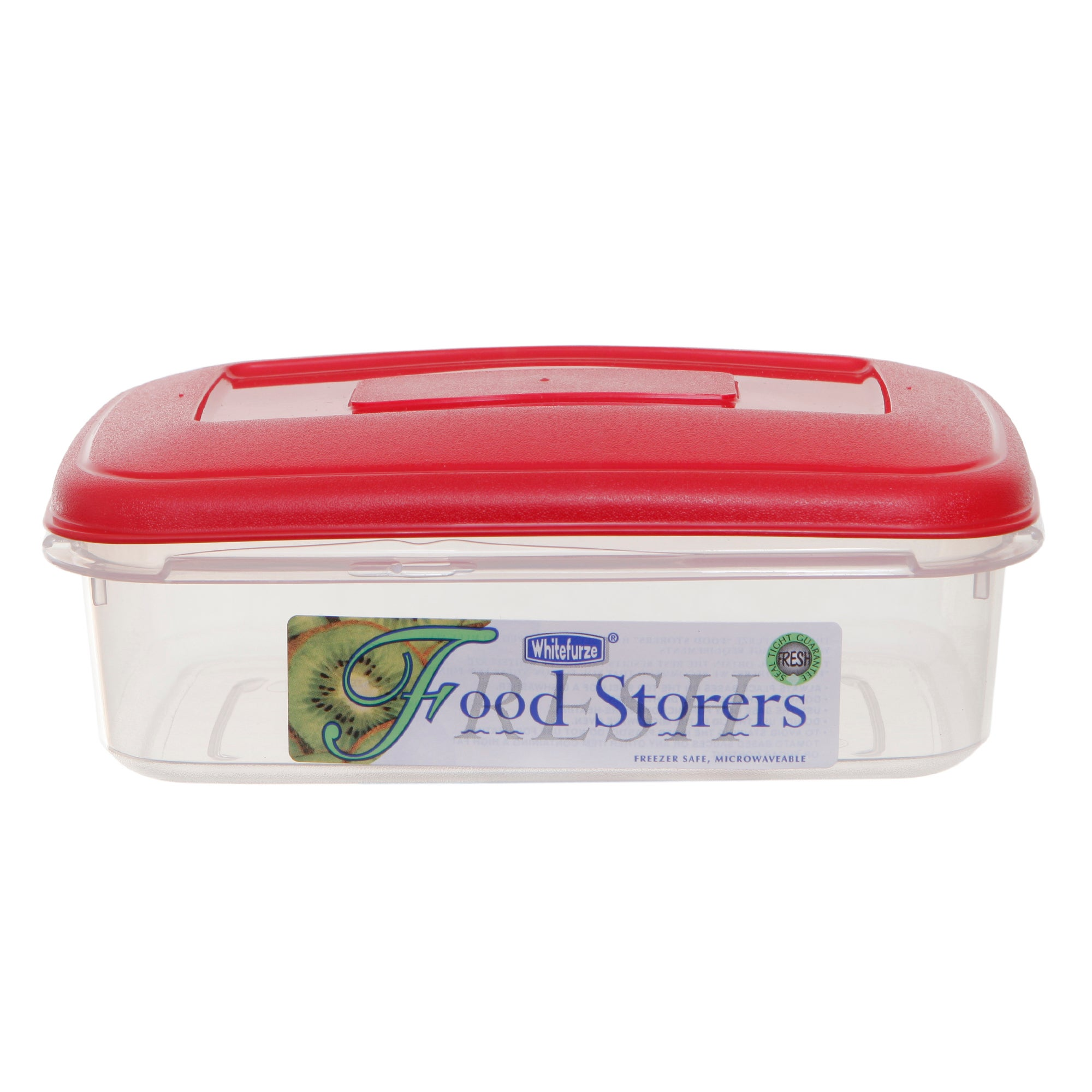 Whitefurze Red Food Storage Box