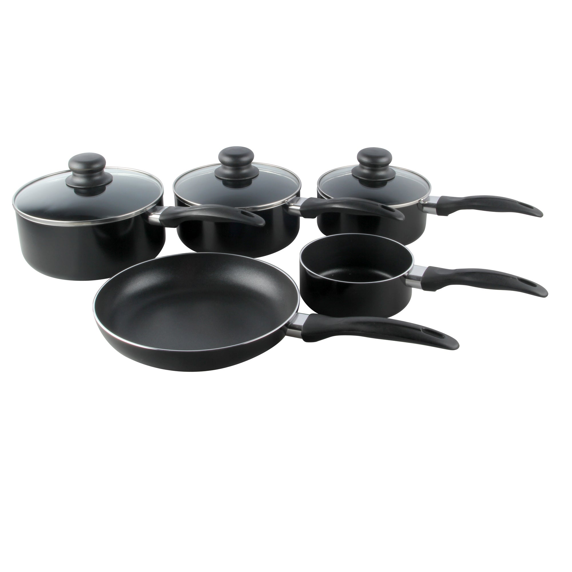 Red Spectrum Collection 5 Piece Pan Set