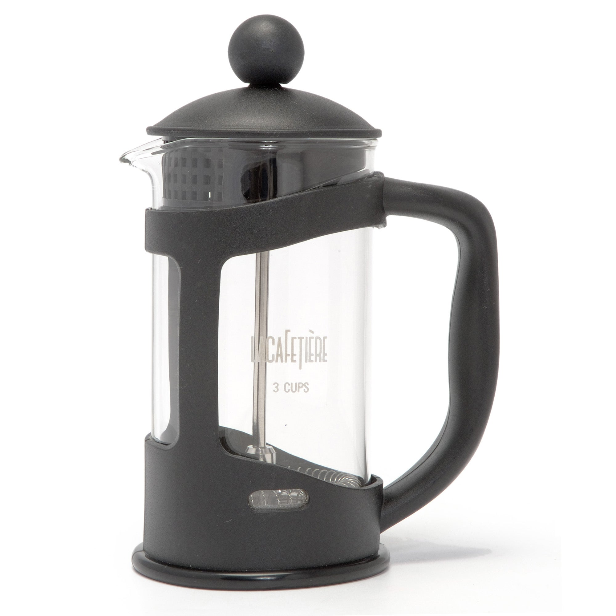 Black Spectrum 3 Cup Cafetiere