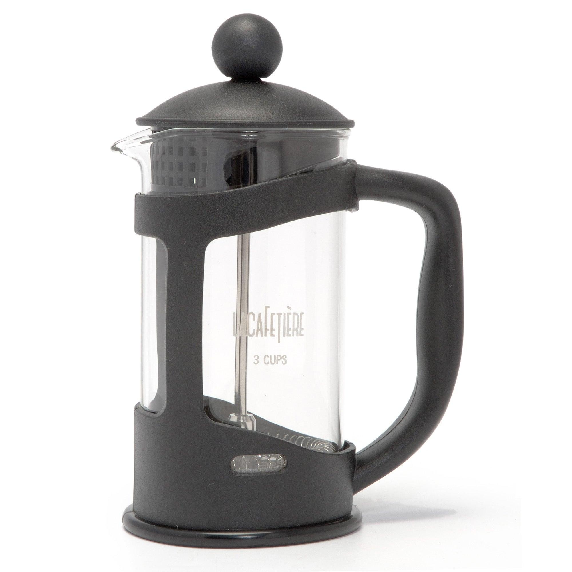 Black Spectrum 3 Cup Cafetiere