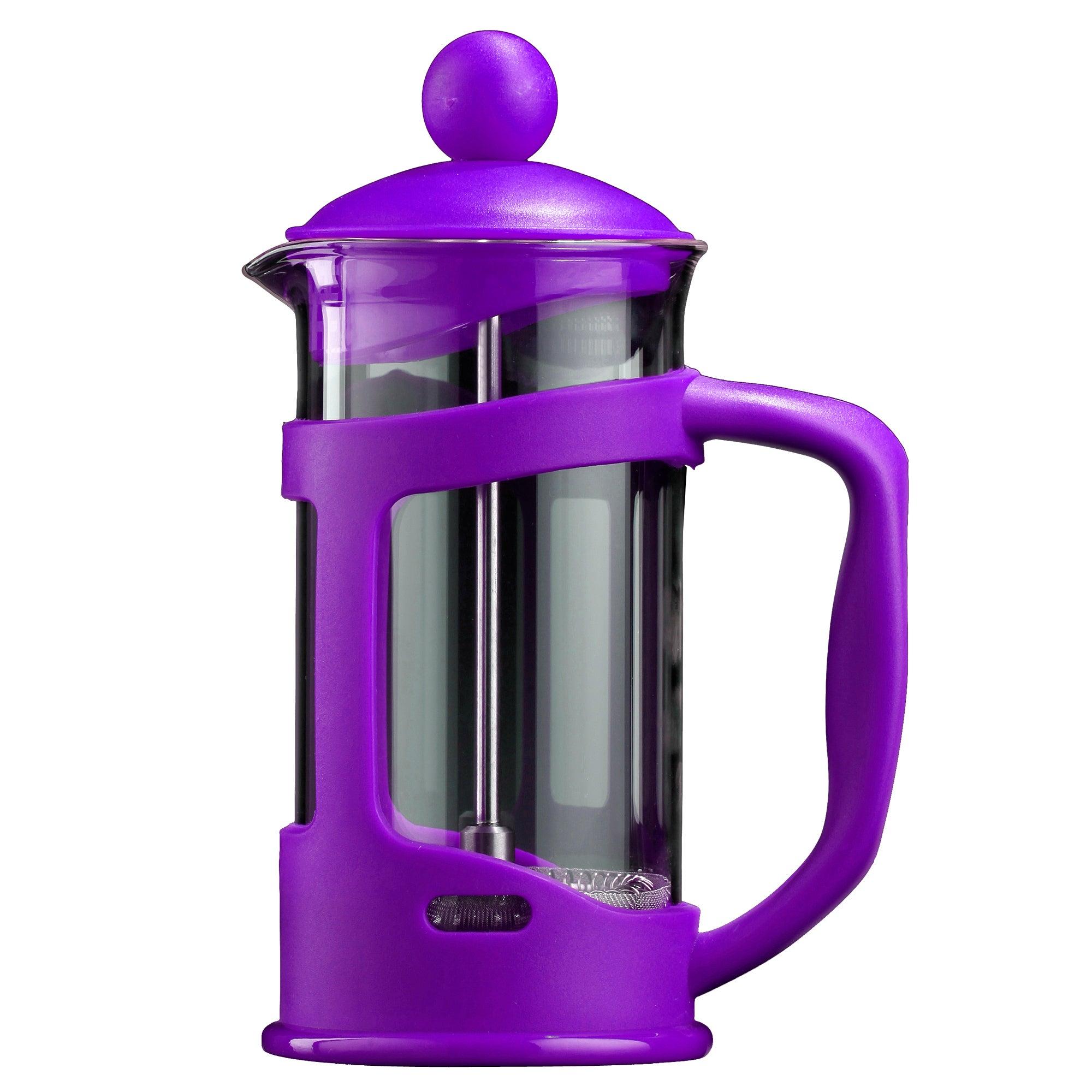 Purple Spectrum 3 Cup Cafetiere