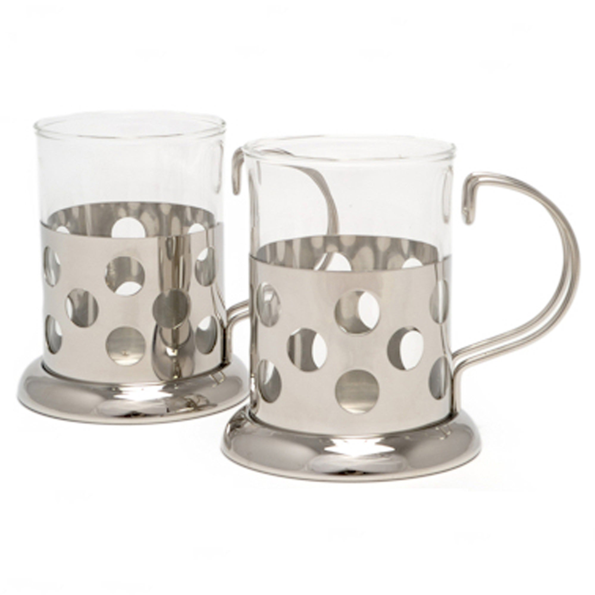Santos Set of 2 Silver Cups