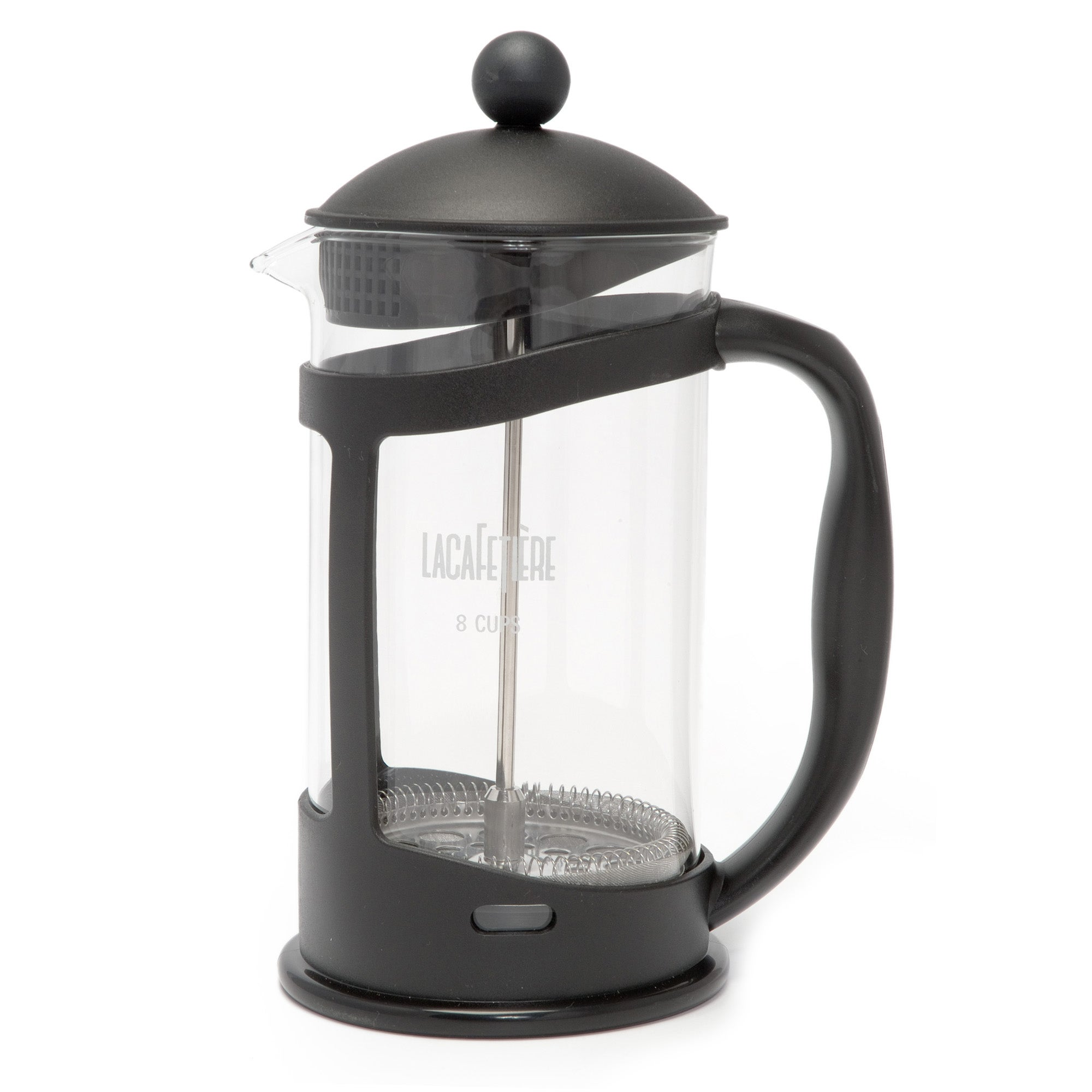 Black Spectrum Collection 8 Cup Cafetiere
