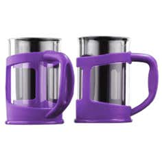 Purple Spectrum Collection Plastic Glass Cups