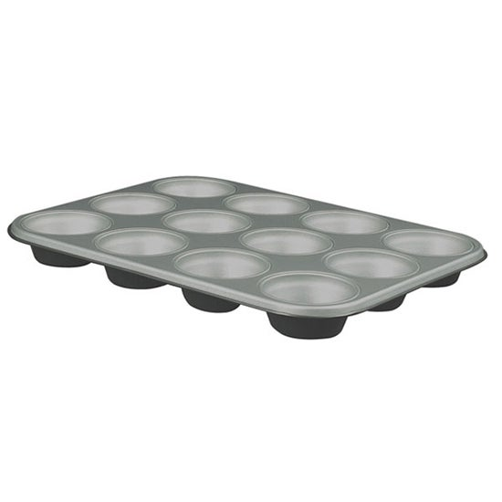Cookshop Collection 12 Cup Teflon Coated Muffin Pan