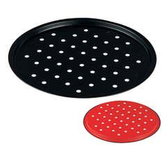 Red Spectrum Collection Pizza Tray