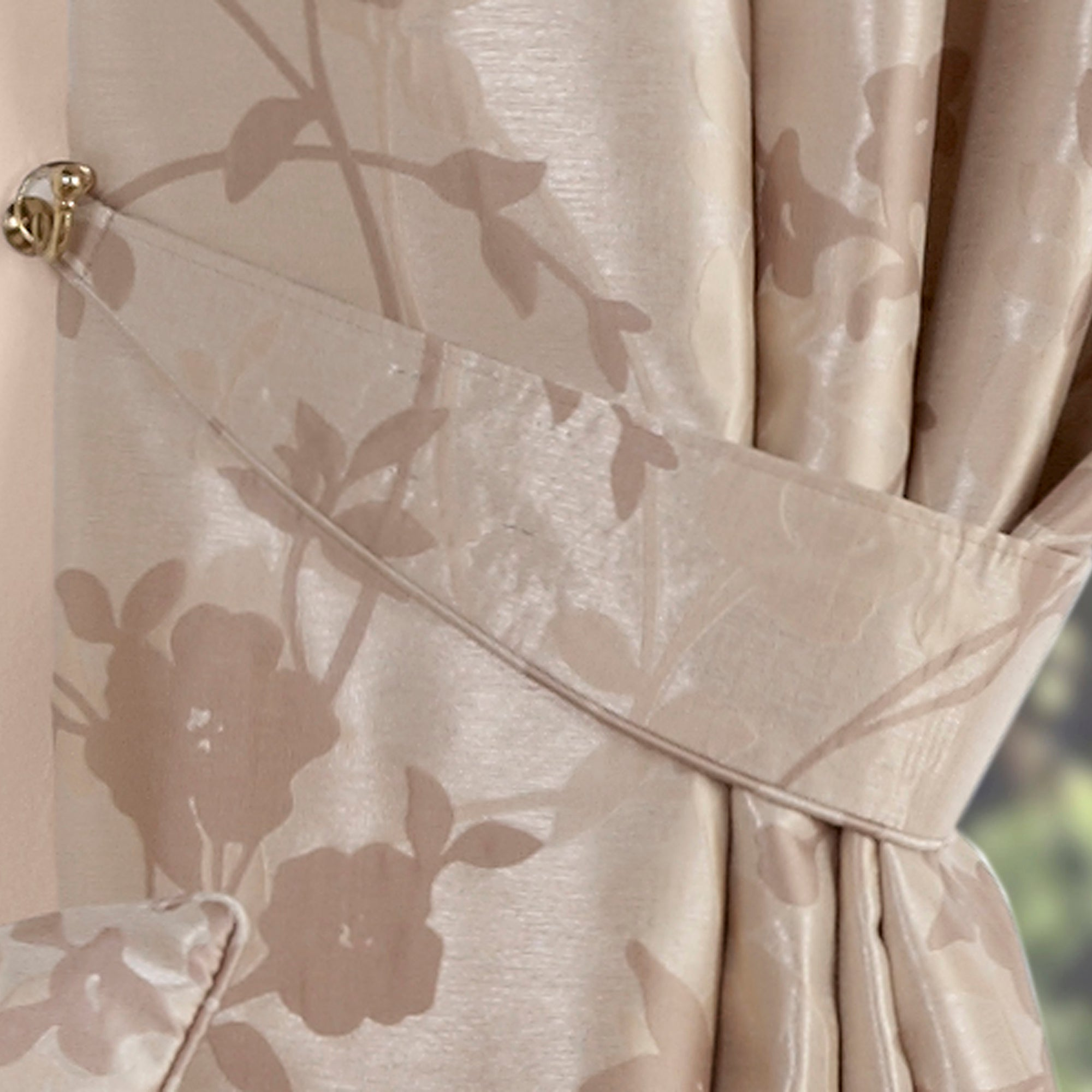 Natural Arianna Curtain Collection