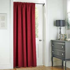 Claret Toledo Collection Door Curtain
