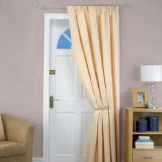 Natural Toledo Collection Door Curtain