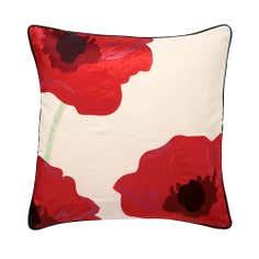 Red Poppy Cushion