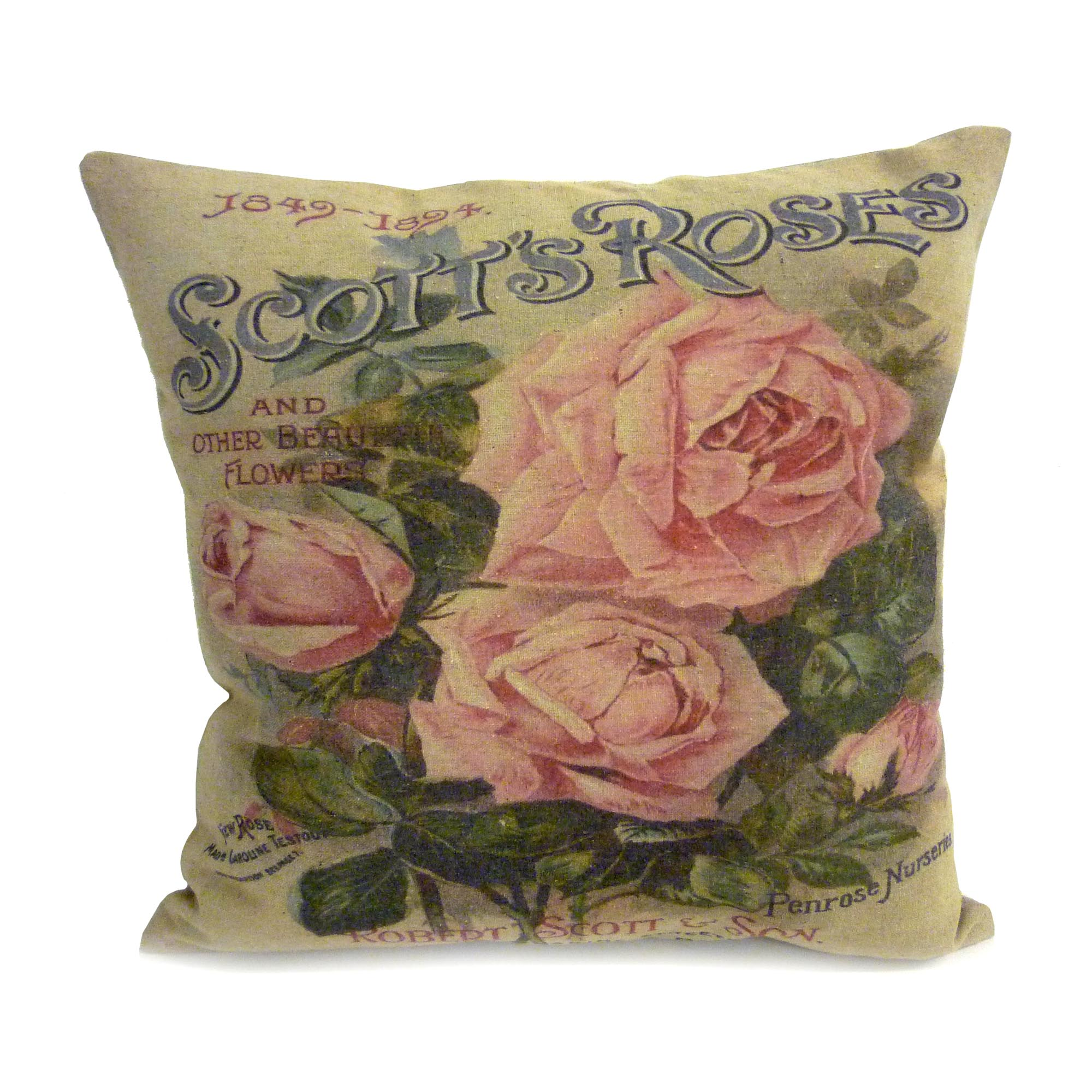 Vintage Rose Cushion