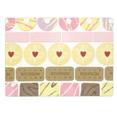 Biscuit Collection Set Of Six Placemats