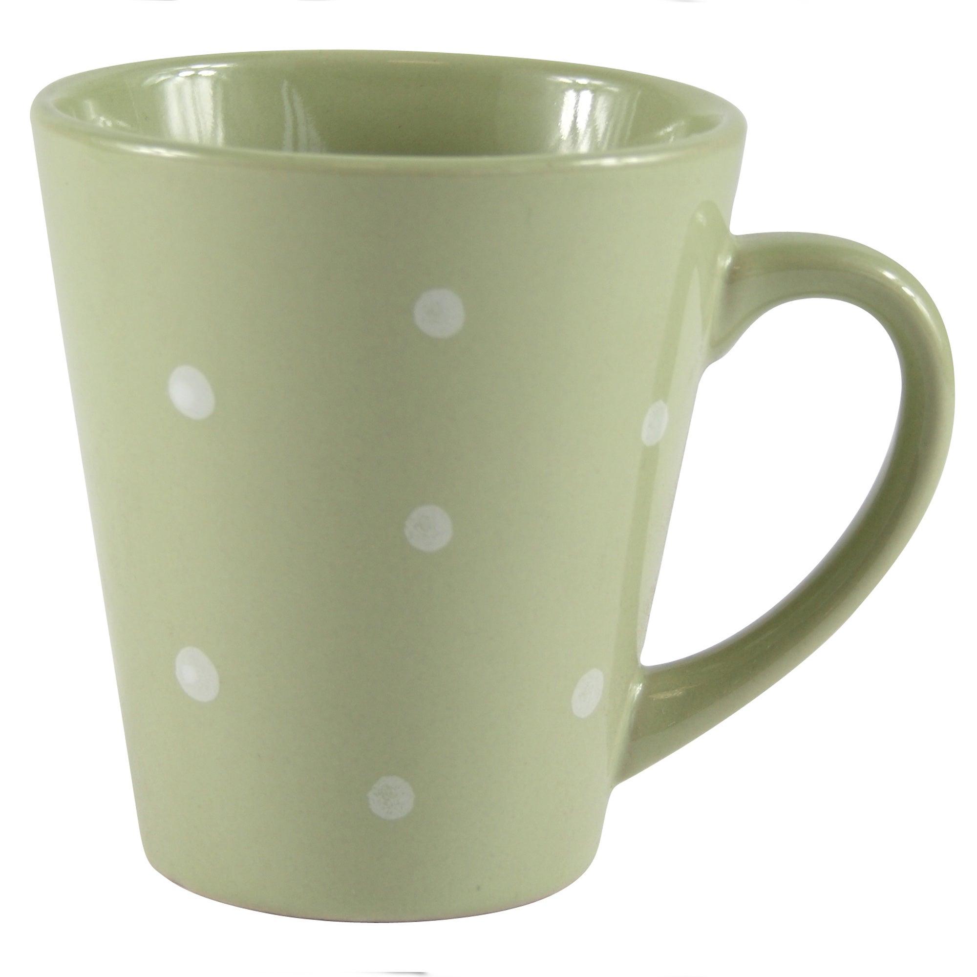 Sage Dotty Mug