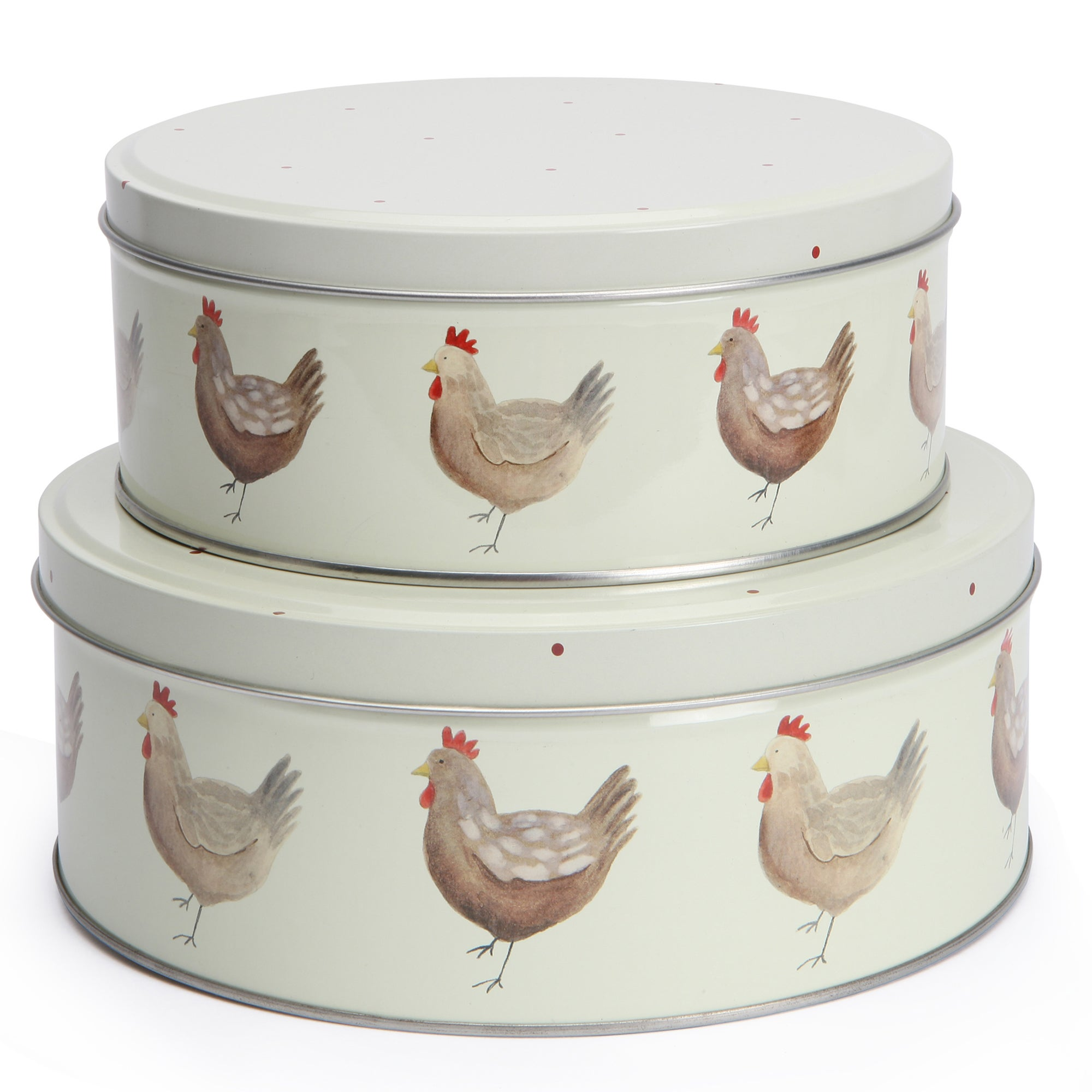 Henrietta Collection Set of 2 Cake Tins