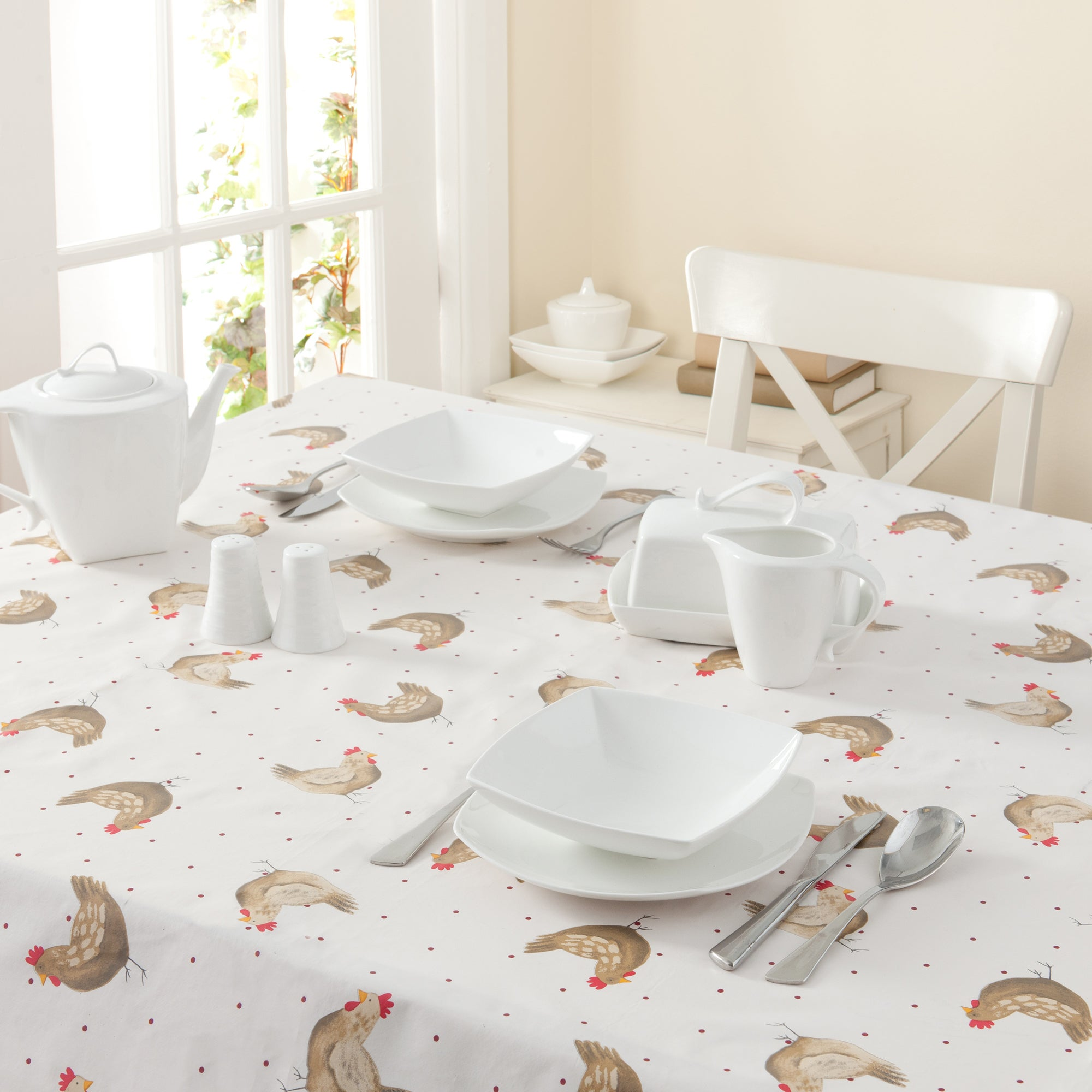 Henrietta Collection Tablecloth