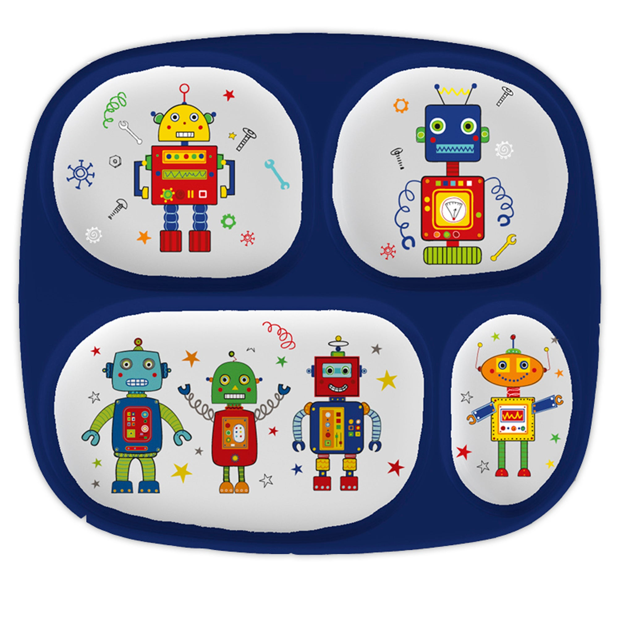 Kids Robots Lunch Tray