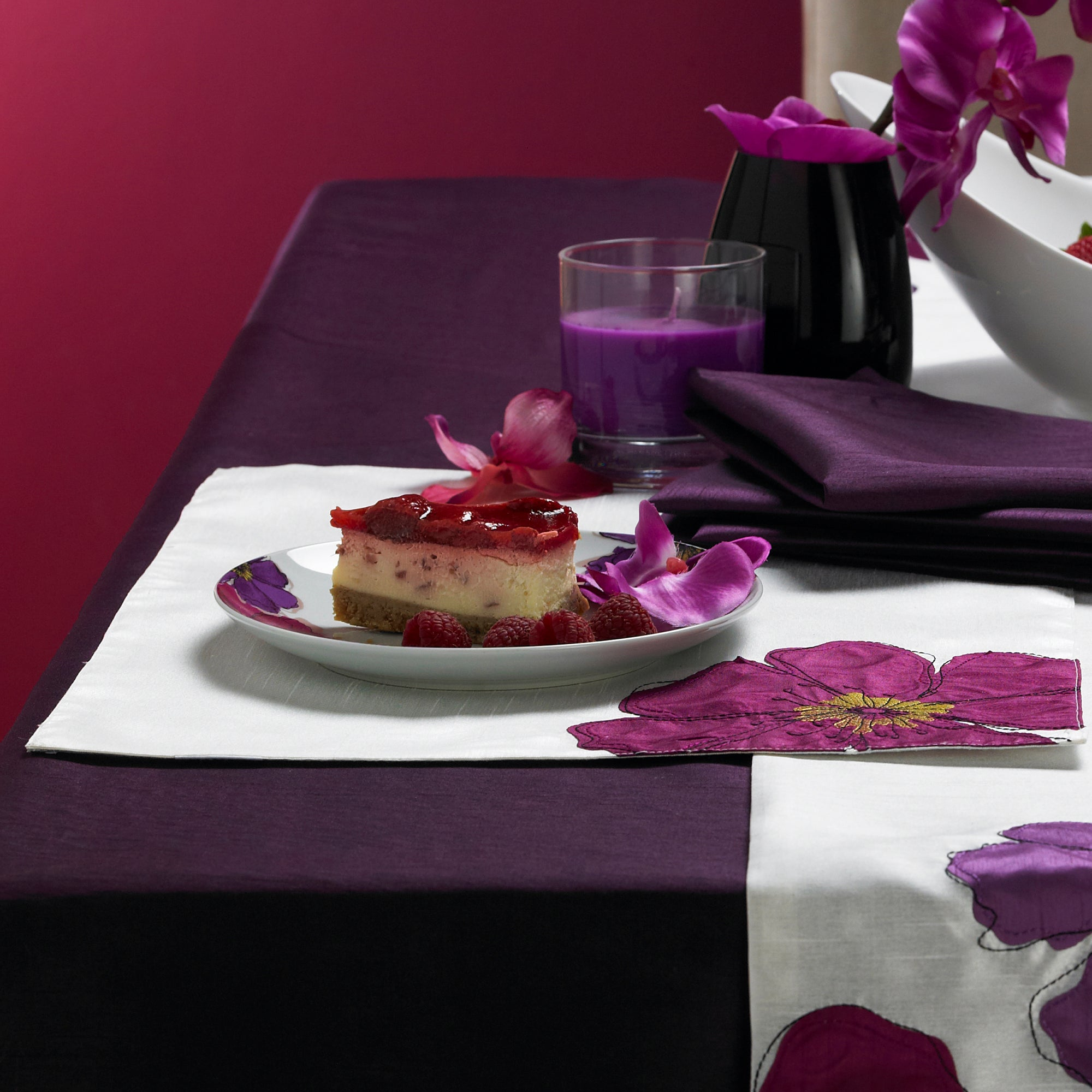 Purple Mulberry Collection Placemat