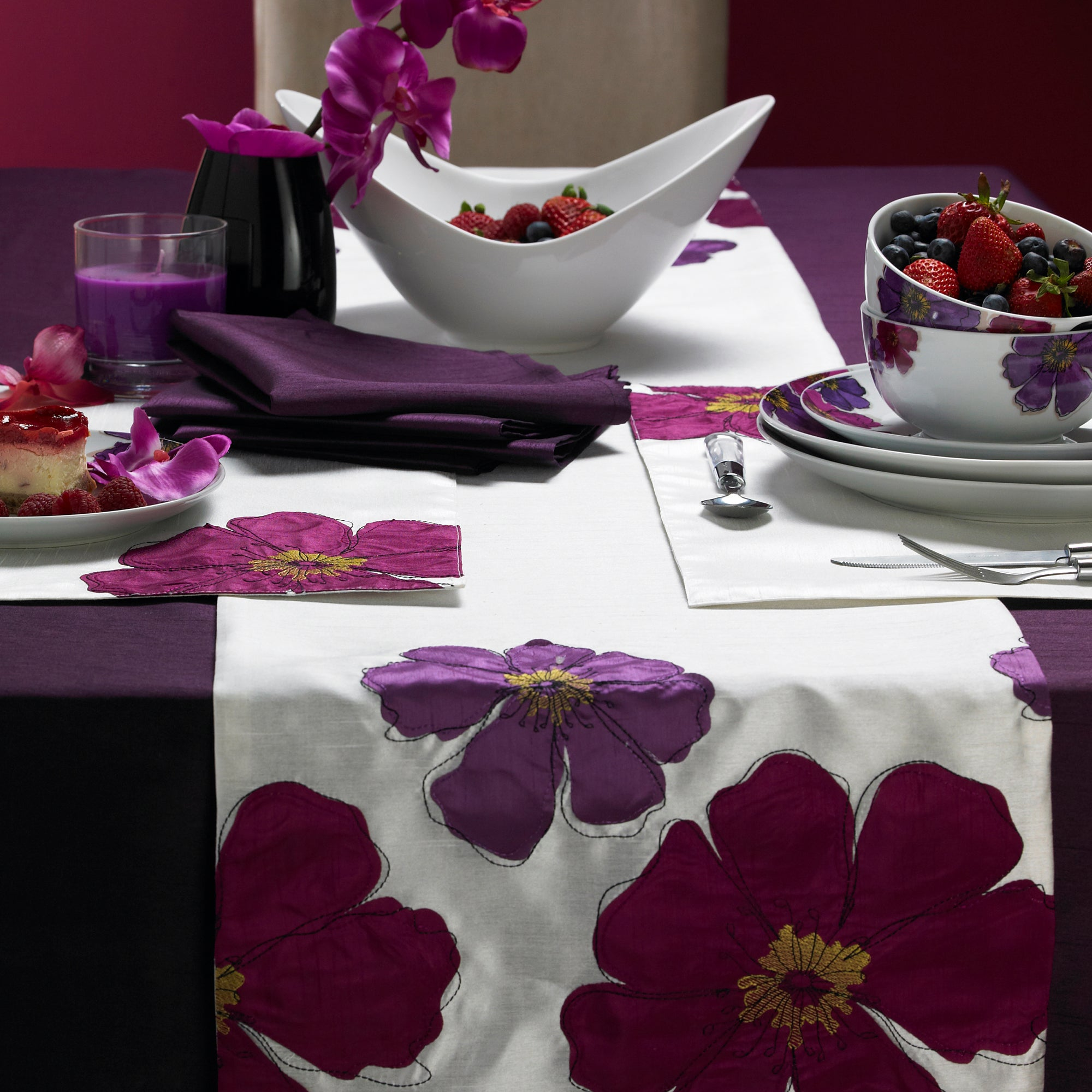 Purple Mulberry Collection Runner