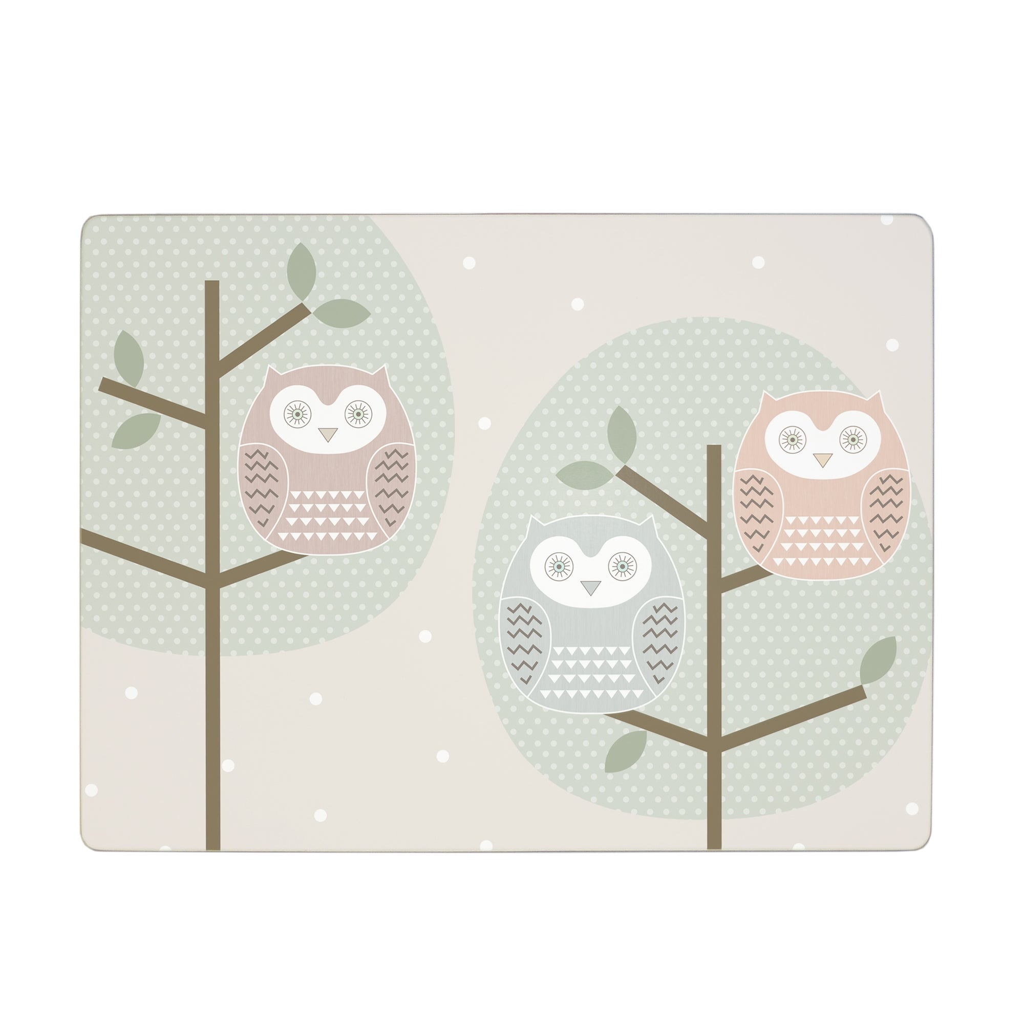 Owl Collection Set of 6 Placemats