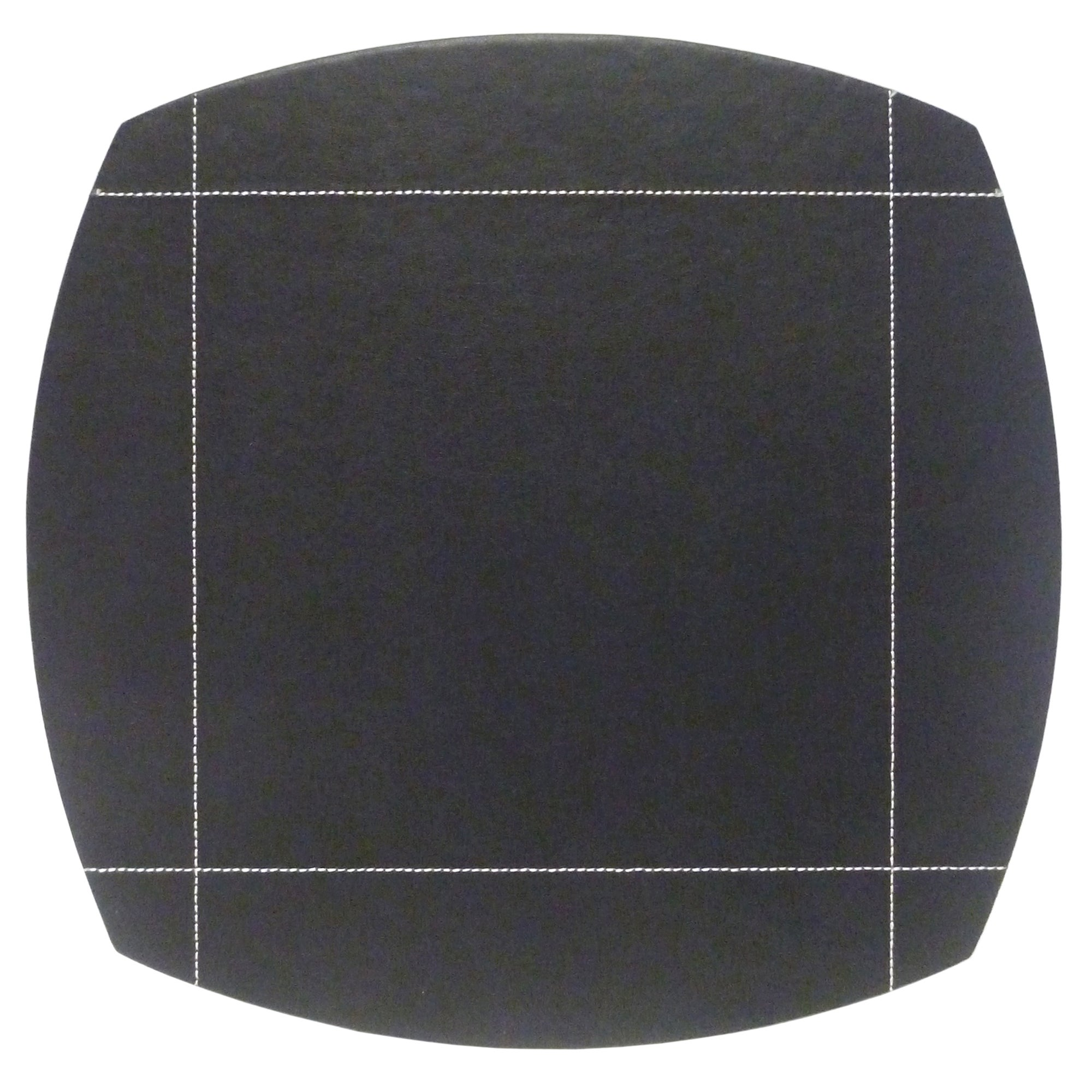 Black Pausa Collection Set Of 4 Placemats