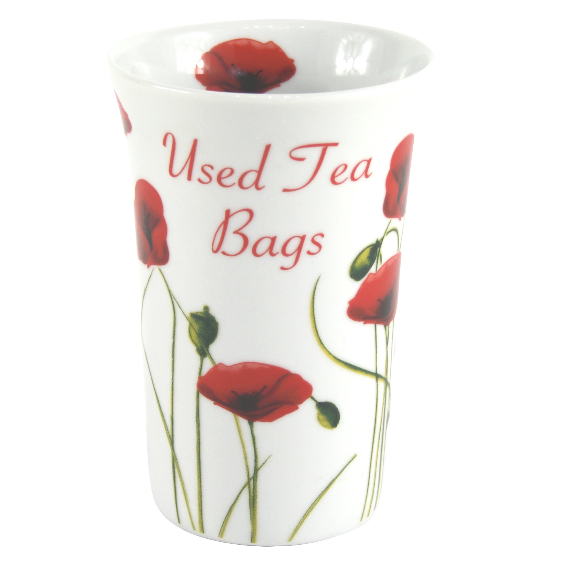 Poppy Collection Teabag Pot