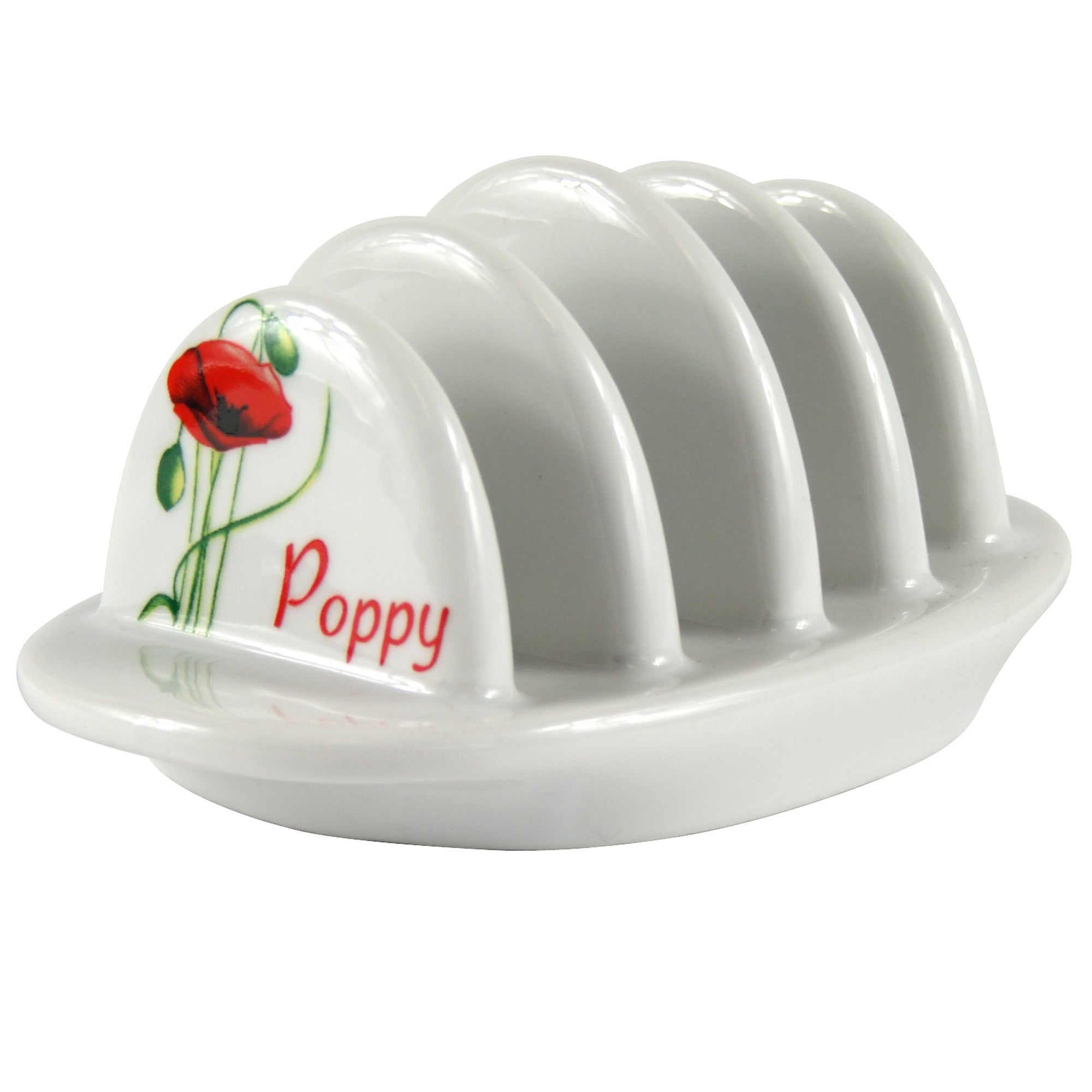 Poppy Collection Toast Rack