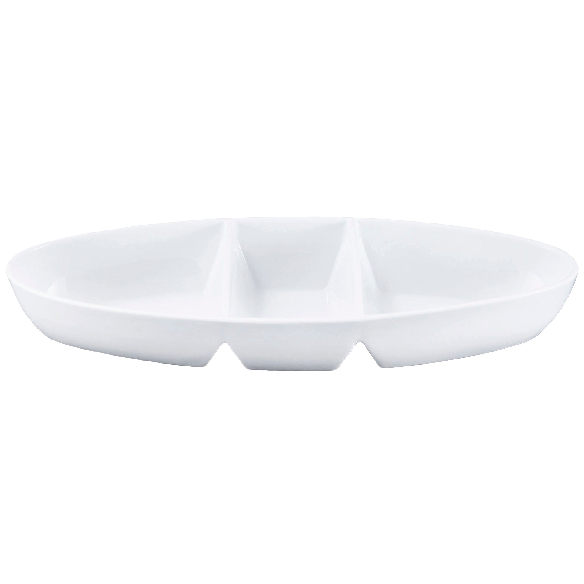 Purity Collection Oval Three Dip Platter