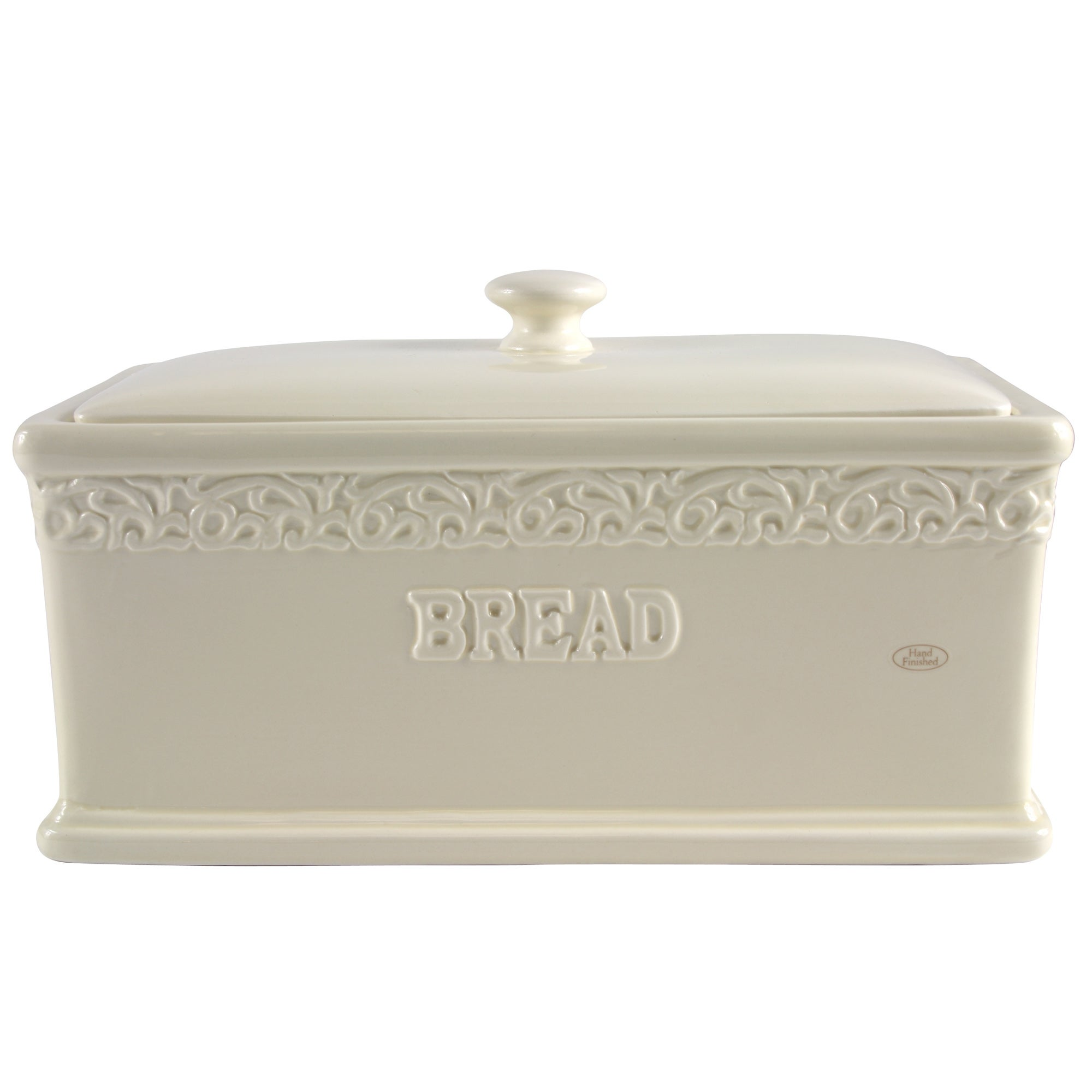 Cream Rochelle Collection Bread Bin