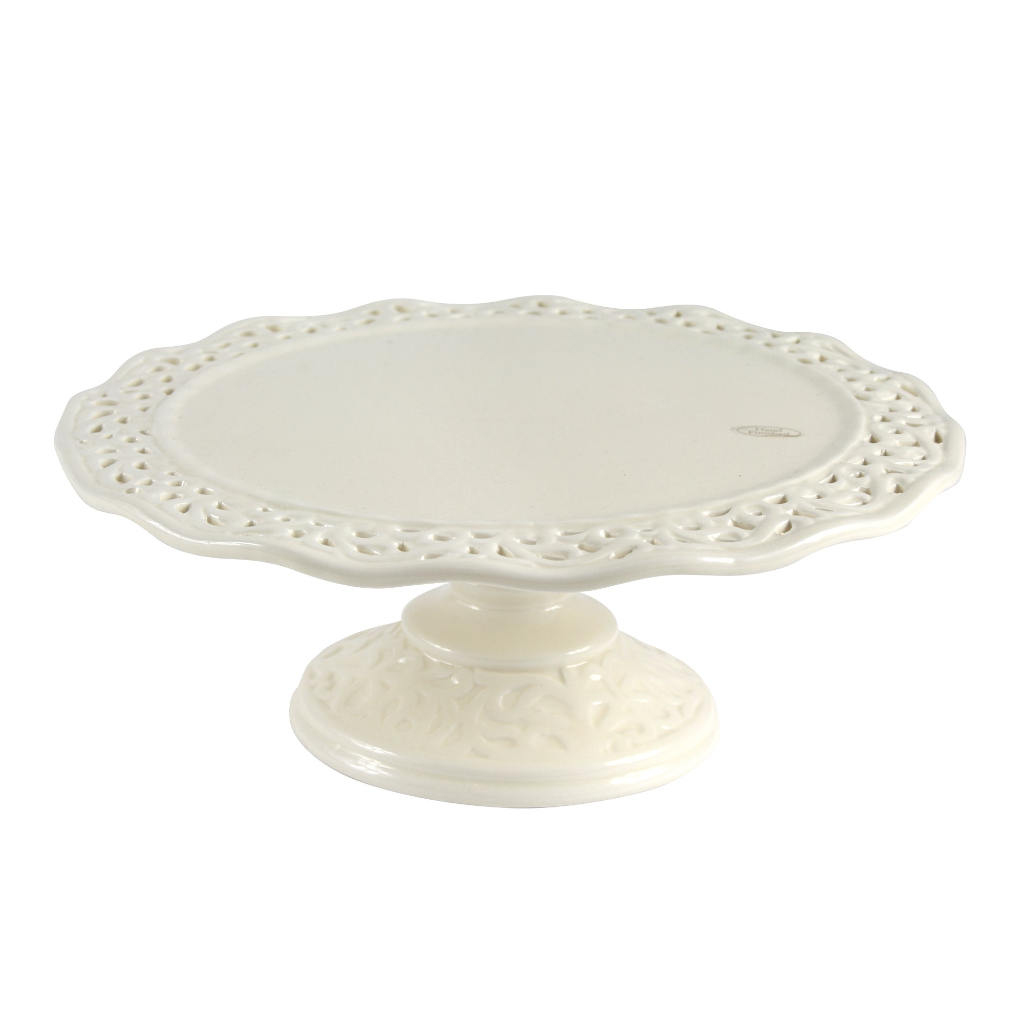 Cream Rochelle Collection Cake Stand
