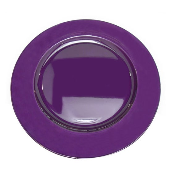 Purple Spectrum Collection Charger Plate